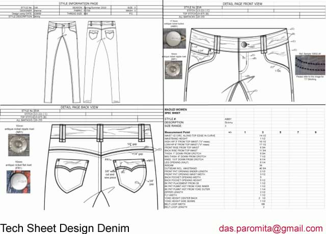 Clothing Designer Portfolio Freelance Fashion Designer