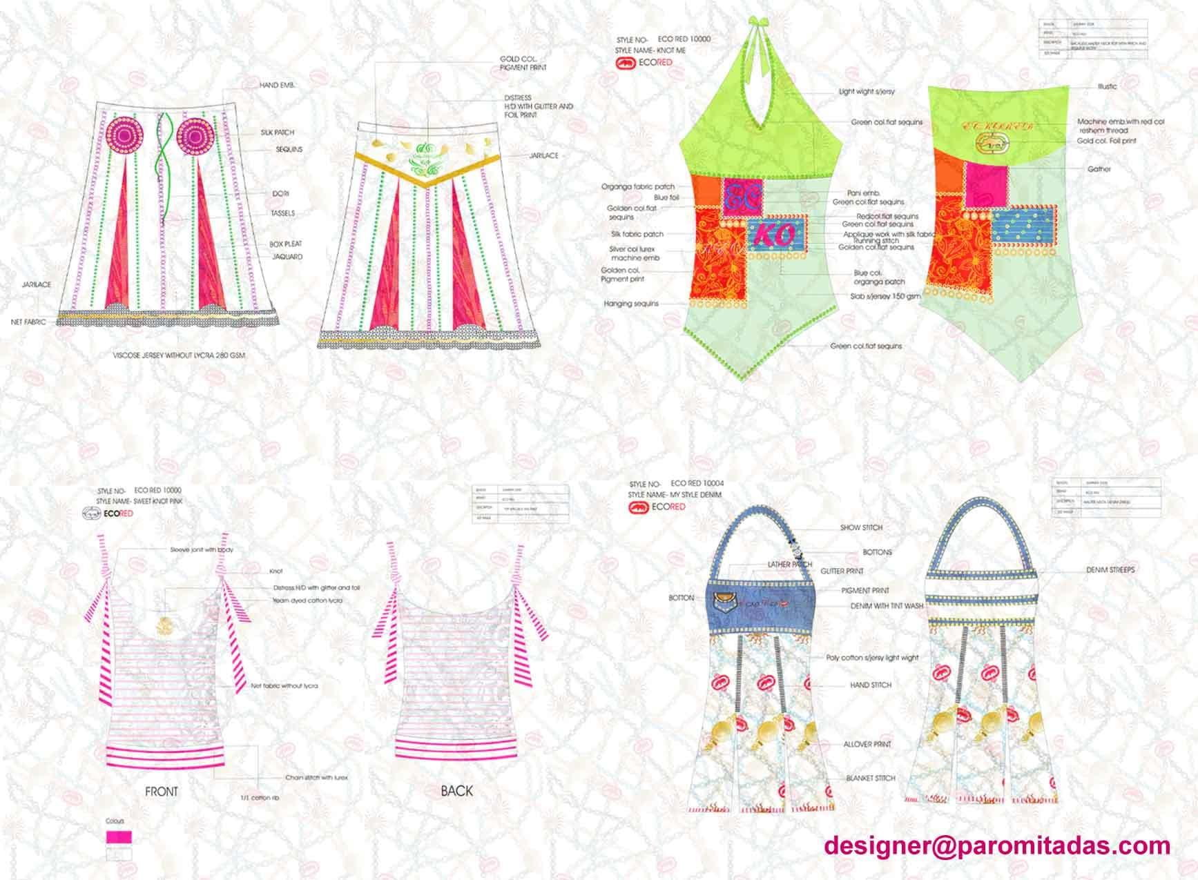 clothing designer girls wear