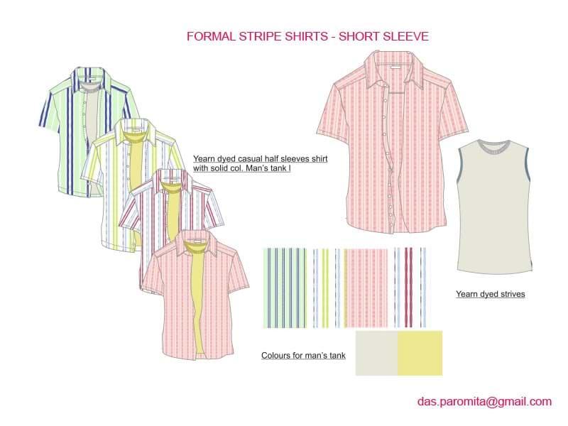 clothing Designer - Formal Shirts