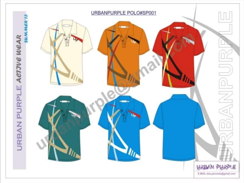 clothing designer - colorways presentation