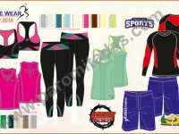 activewear-linesheet - Clothing Designer