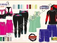 activewear-linesheet - Clothing Designer