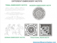 Embroidery - Clothing-Designer