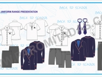 Apparel Line Sheet - School Uniform
