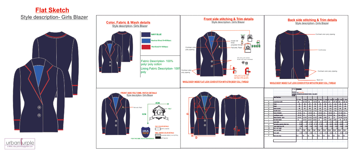 Clothing designer tech pack designer clothing manufacturer How to design clothes for manufacturing